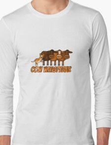 cow whisperer (herding red heeler) Long Sleeve T-Shirt