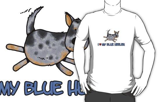 I love my blue heeler by Corrie Kuipers