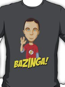 Sheldon Cooper Bazinga! T-Shirt