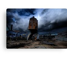 Darkness - Memories of Days Gone By - Cockatoo Island - the HDR Series Canvas Print