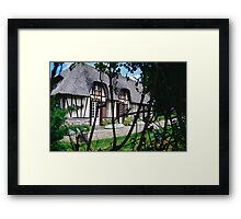 Paysages Normandie LOVE  landscapes 22 (c)(t) canon eos 5 by Olao-Olavia / Okaio Créations   1985 Framed Print