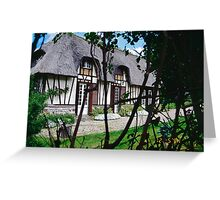 Paysages Normandie LOVE  landscapes 22 (c)(t) canon eos 5 by Olao-Olavia / Okaio Créations   1985 Greeting Card