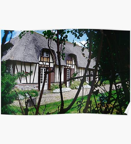 Paysages Normandie LOVE  landscapes 22 (c)(t) canon eos 5 by Olao-Olavia / Okaio Créations   1985 Poster