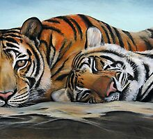 Tiger Tiger Burning Bright by Tom Godfrey