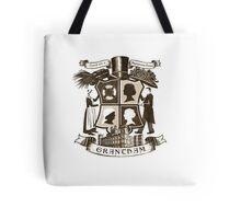 Grantham coat of arms (sepia) Tote Bag