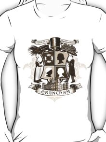 Grantham coat of arms (sepia) T-Shirt