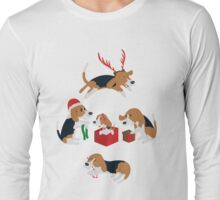 Beagle christmas Long Sleeve T-Shirt