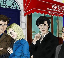 WhoLock On Baker Street by Kyramepanthera