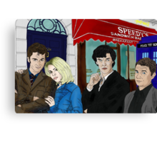 WhoLock On Baker Street Canvas Print