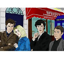 WhoLock On Baker Street Photographic Print