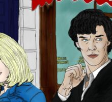 WhoLock On Baker Street Sticker