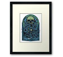 Ocean Skull  Framed Print
