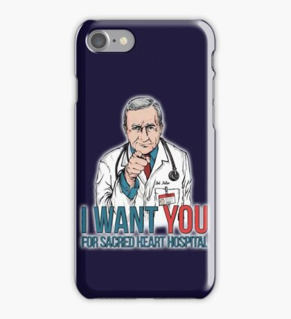 Scrubs Bob Kelso iPhone Case/Skin