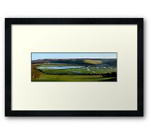 Flood Patterns Framed Print