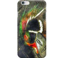 Wood Duck Checker Plate - Mallard Down iPhone Case/Skin