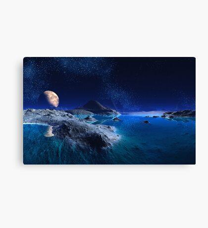Crystal Sea Canvas Print
