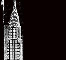 Chrysler Building Sketch by kjadesign