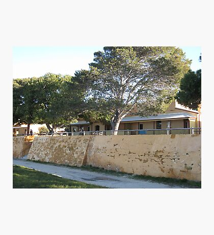 Old cottages Rottnest Island Photographic Print