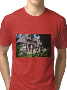 Paysages Normandie LOVE  landscapes 22 (c)(t) canon eos 5 by Olao-Olavia / Okaio Créations   1985 Tri-blend T-Shirt