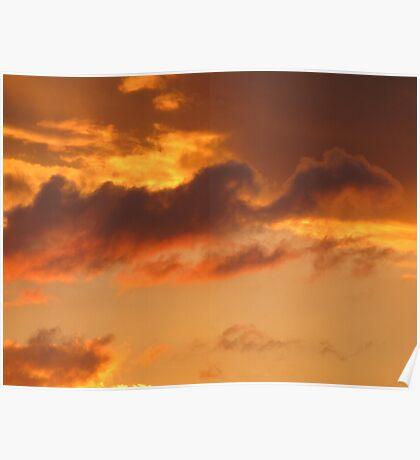 Cloud Shapes Poster