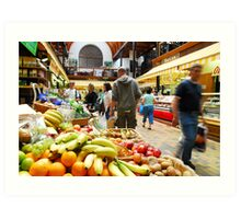 English Market Art Print
