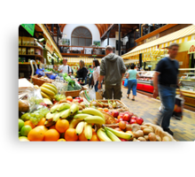 English Market Canvas Print