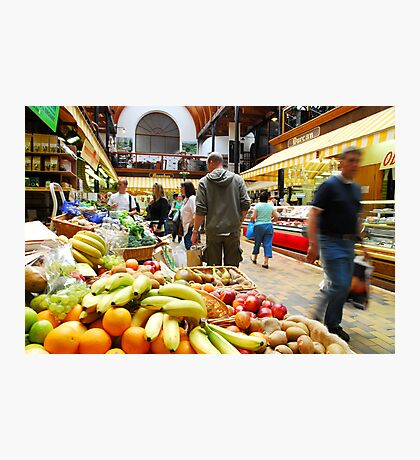 English Market Photographic Print