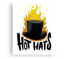 Hot Hats Canvas Print