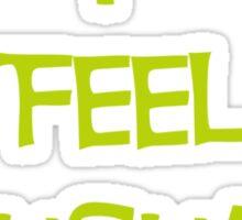 I feel Unusual Sticker
