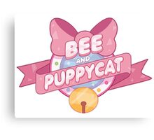 Bee and Puppycat Logo Canvas Print