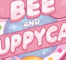 Bee and Puppycat Logo Sticker