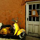 Vespa At The Door by rorycobbe