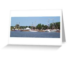 West Bank Tall Ships - Bay City - 2010 Greeting Card
