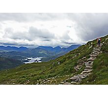 Hiking In Kerry Ireland Photographic Print