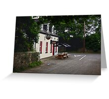 traditional  irish pub Greeting Card