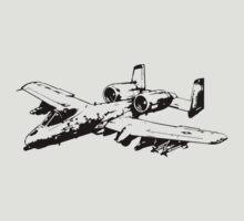 A-10 Thunderbolt II by deathdagger