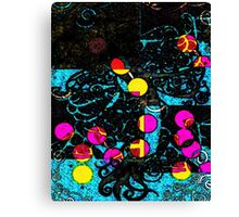 Tentacles and Other Play Toys Canvas Print