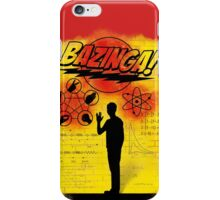 the theory of Sheldon Cooper iPhone Case/Skin