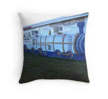ON TRACK TO SUCCESS! Throw Pillow
