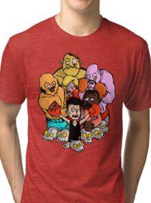 Bloodless NES Boxers Tri-blend T-Shirt