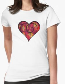 FULL OF LOVE Womens Fitted T-Shirt