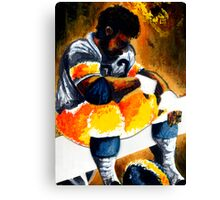 Football (Because I couldn't come up with a better title) Canvas Print