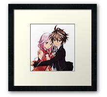 Inori & Shû Framed Print