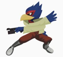 Falco - Super Smash Brothers Melee Nintendo Kids Clothes