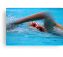 ASA National Age & National Youth Championships 2 Canvas Print