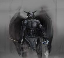 Chernobog, God of Evil by AntonSerzhan