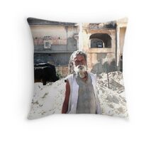 People of India Throw Pillow