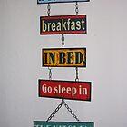 Hotel Sign by lezvee