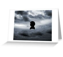 Sherlock in the Clouds Greeting Card
