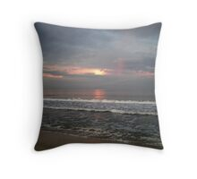 Dawn Over the Pacific Throw Pillow